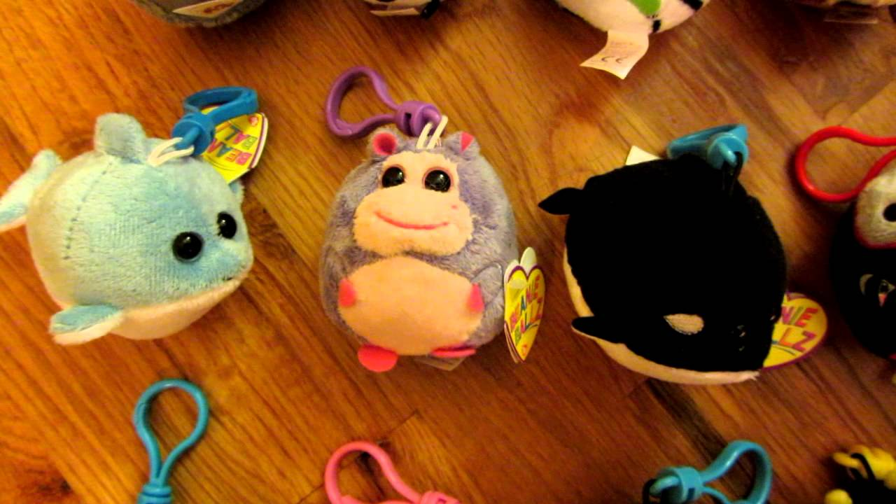 41dc94df2fd Ty Beanie Ballz Clips Collection - YouTube