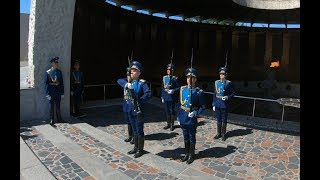 Volgograd. Mamayev Kurgan - The Honor Guard of Eternal Flame [4K]