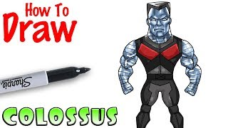 How to Draw Colossus | Deadpool 2