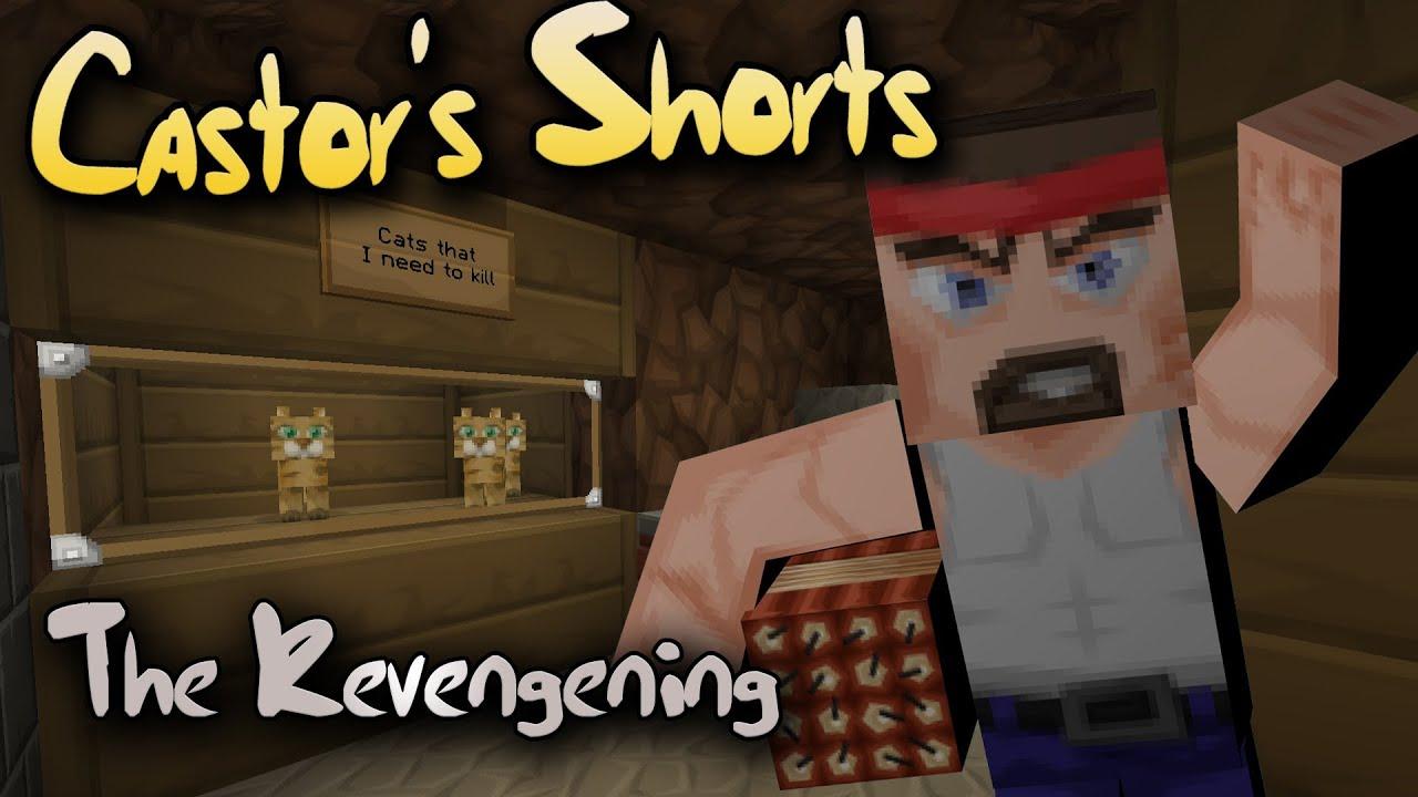 Castors Shorts Minecraft The Revengening YouTube - Minecraft desperado hauser