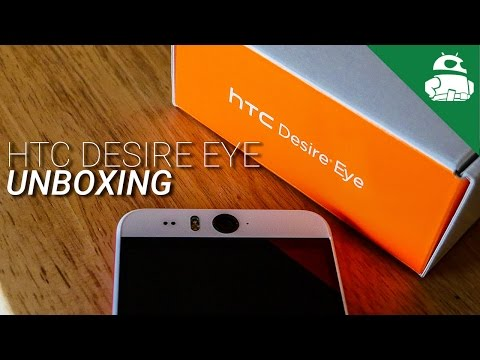 HTC Desire Eye Unboxing and First Impressions