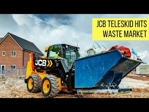 JCB Teleskid hits the waste market