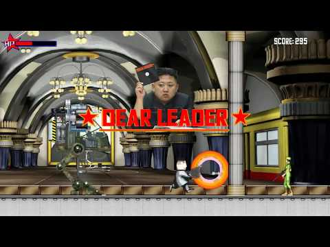 """""""Dear Leader"""" a videogame parody of North Korea - Coming to Steam on April 20th"""