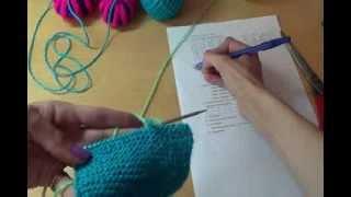 Вязание пинеток спицами Шаг 4 / / Knitting bootees spokes Step 4(Будь в курсе новых видео, подписывайся на мой канал ▻http://www.youtube.com/user/hobby24rukodelie?sub_confirmation=1 Видео подготовл..., 2013-11-30T17:17:49.000Z)