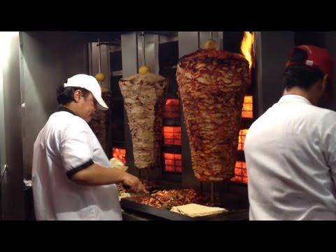 Best street food shawarma Deira Dubai UAE