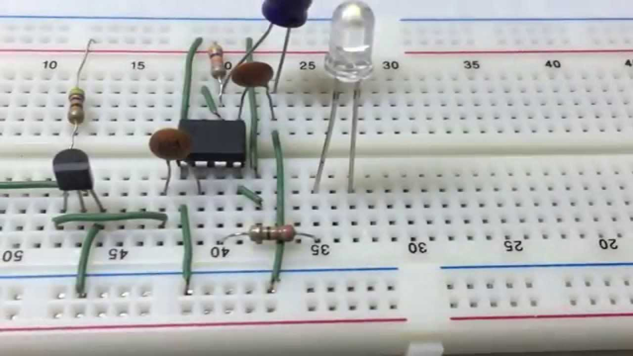 How To Make A Clap Switch With Audio Youtube Sound Detector Using Lm324