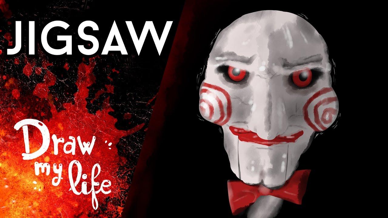 La HISTORIA de SAW (JIGSAW) |  Película de TERROR | Draw My Life
