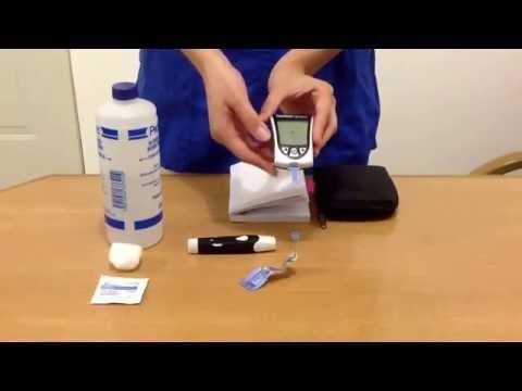 Guía para utilizar el glucometro o medidor de glucosa en 8 pasos