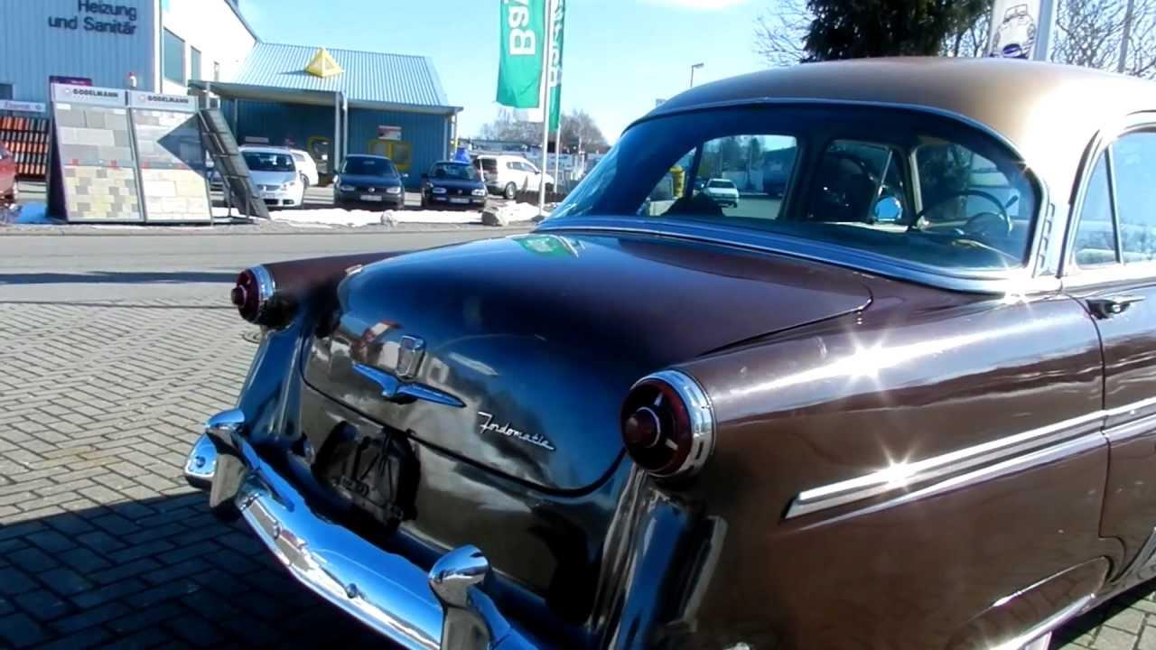 1954 Ford Crestline V8 Sedan 4 door - YouTube