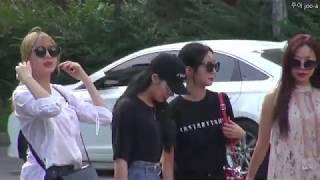 20180720 에이핑크 A Pink 뮤직뱅크 출근길