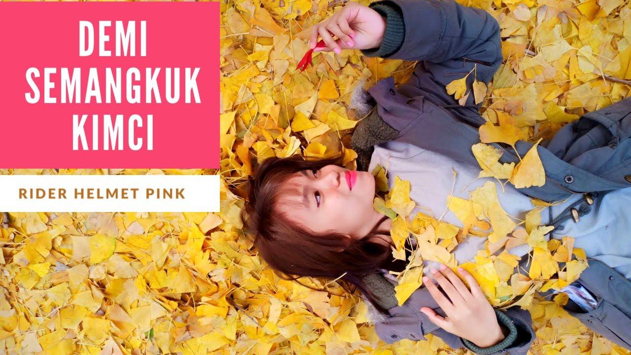 KL SOLO RIDE   Makanan Korea Hawau   Rider Helmet Pink   #OUTRIDE