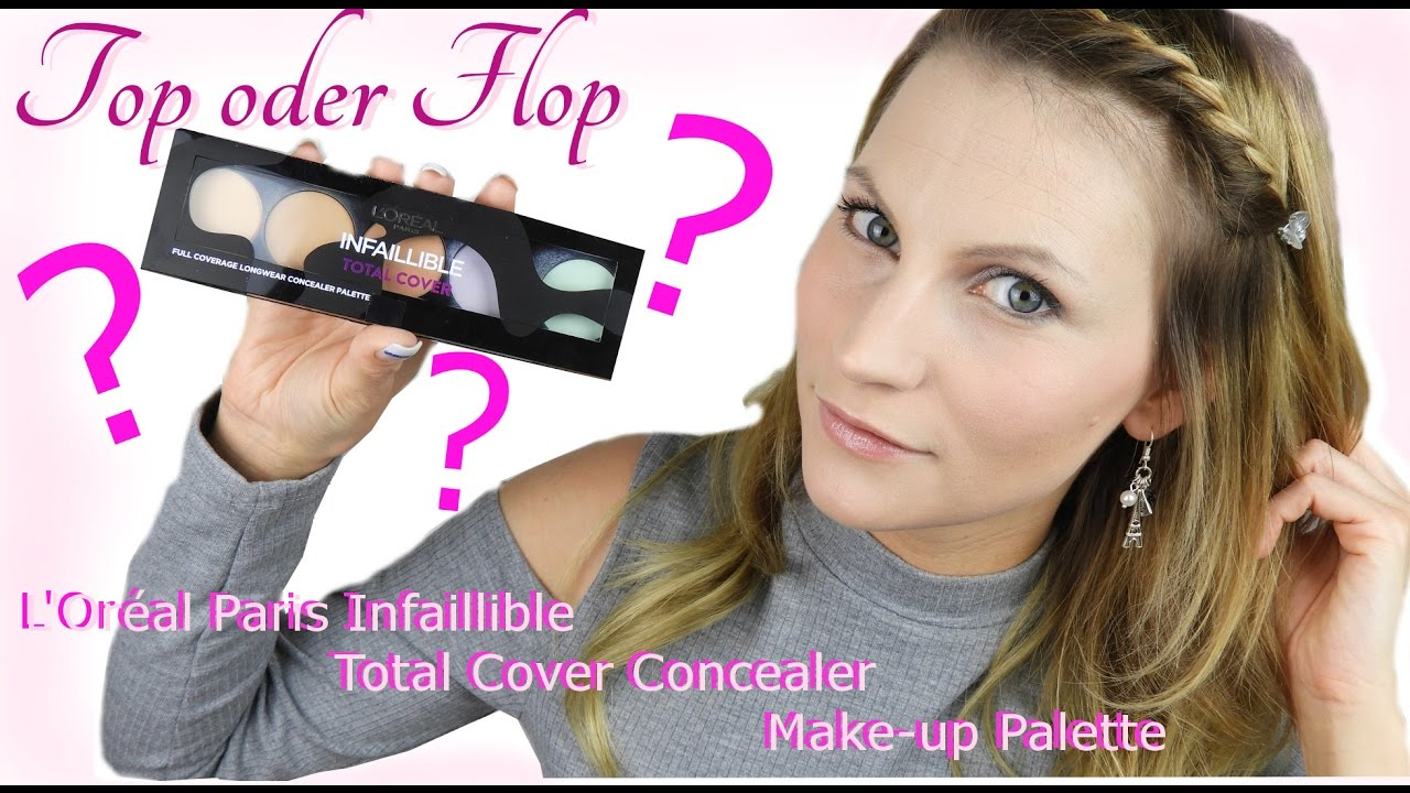 Loréal Paris Infaillible Total Cover Concealer Make Up Palette