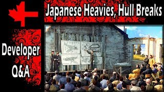 War Thunder - Developer Q&A Part 1 - Japanese Heavies, Hull Breaks