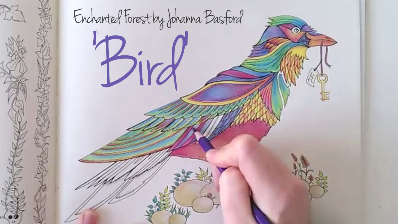 Enchanted forest coloring book youtube - Enchanted Forest Coloring Book Youtube 9