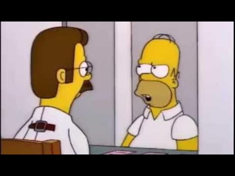 Homero puede llegar a ser tan irritante - Los Simpson & Cartoon Movies