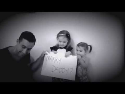 Will You MARRY DADDY? Cutest Proposal EVER!