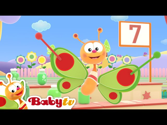 Ten Green Bottles 🤩  (Remastered with Lyrics) | Nursery Rhymes & Songs for Kids | BabyTV