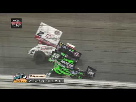 Knoxville Raceway World of Outlaws Highlights - June 9, 2017