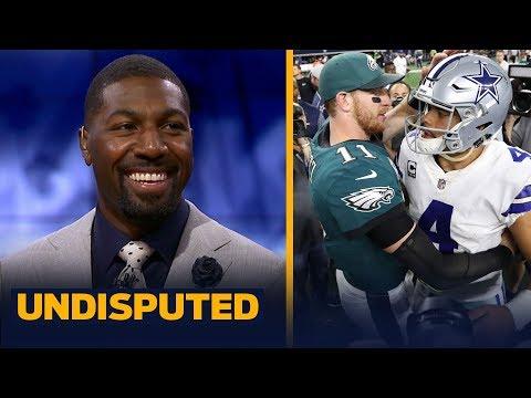 Greg Jennings believes Dak Prescott has a greater ceiling than Carson Wentz | NFL | UNDISPUTED