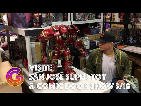 Le French Geek et Le San Jose Super Toy and Comic Book Show 2018