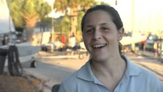 Marta Hernandez - Snipe Sailor (in Spanish)
