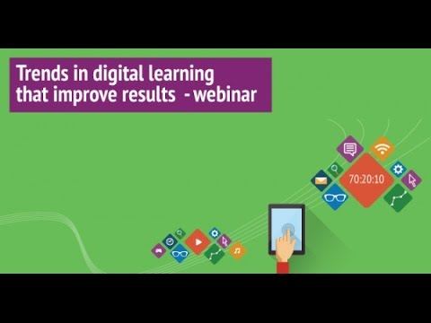 Trends in digital learning that improve results