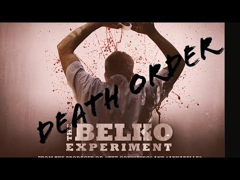 The Belko Experiment Death Order