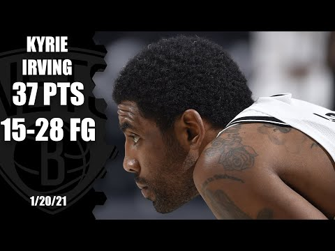 Kyrie Irving scores 37 in his first game with James Harden HIGHLIGHTS  NBA on ESPN