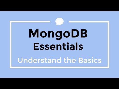 MongoDB Essentials - A Tutorial for Understanding MongoDB