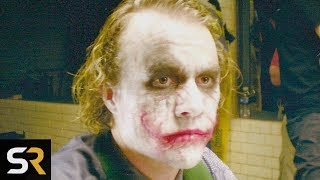 The True Story Of Heath Ledger's Joker