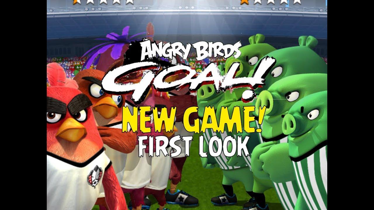 Juego Angry birds goal