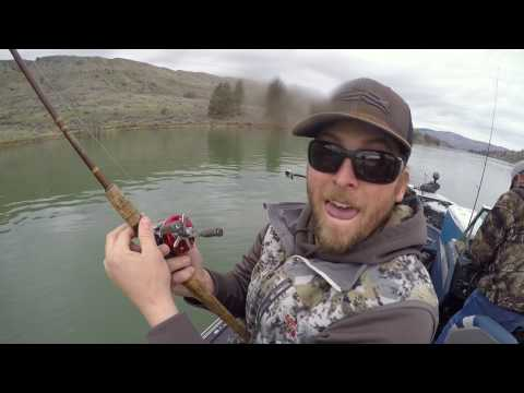 Way Outdoors, Trolling For Walley On Rufus Woods