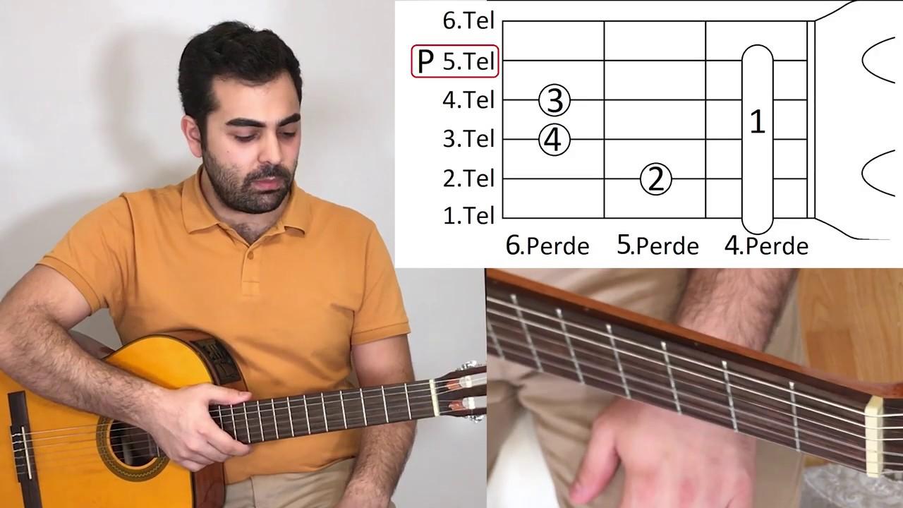 [Gitar Dersi 56] C#m - Do Diyez Minör ve Dbm - Re Bemol Minör nasıl basılır