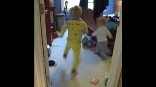 Kids Dancing to Crazy Frog
