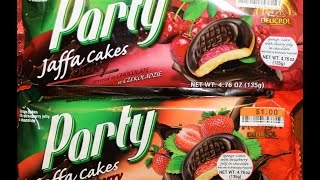Party Jaffa Cakes: Cherry & Strawberry Review