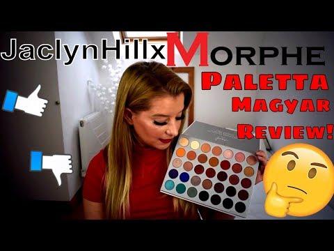 JaclynHill x Morphe Paletta Magyar Review!