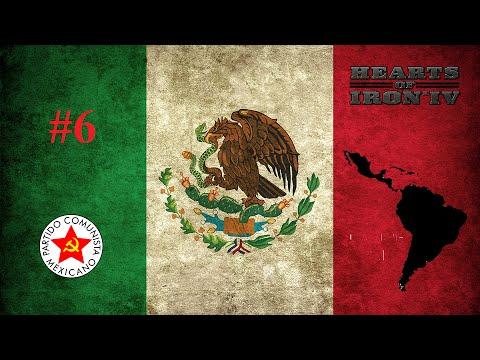 Guerra Mundial por Cuba | #6 | México | Hearts of Iron 4 Gameplay en Español