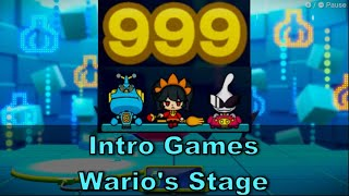 WarioWare Get It Together Intro Games: Crew of Three - 1000 Subs = 1000 Score