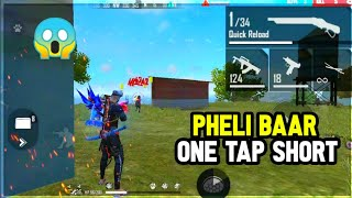 पहली बार मारा One tap headshort 😱 | Free Fire Funny Video 🤣 wait for end #Short #Shorts