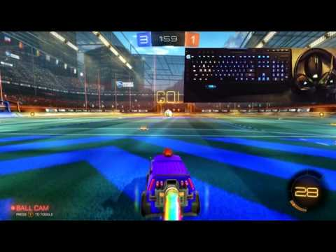 Aurora - Rocket League Demo with Logitech & Corsair