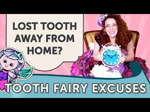 What if you lose your tooth when you're not home?