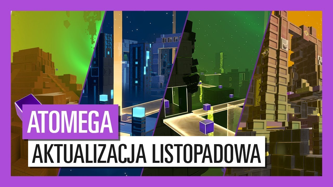 ATOMEGA – Nowa zawartość już dostępna!