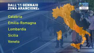 Il nuovo assetto anticovid del nostro paese, quasi tutto in zona gialla, tranne 5 regioni arancione. ma l'attesa è per prossimo decreto governo che...
