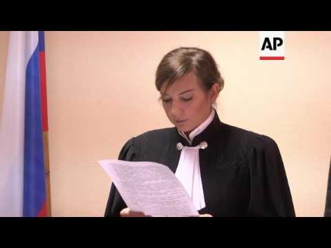 Woman accused of beheading child in Russia court