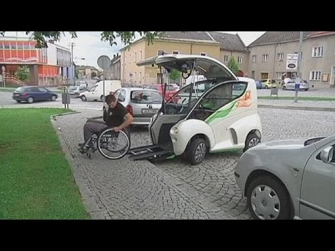 New Car Offers Freedom For Disabled Drivers Youtube