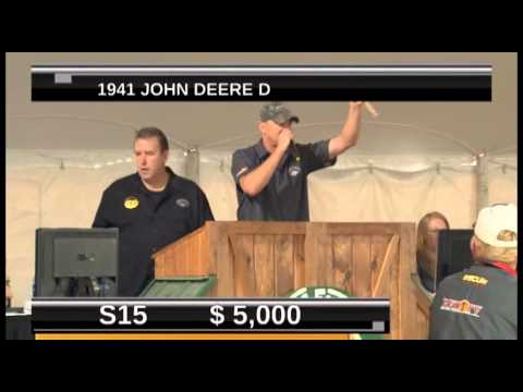 Mecum Gone Farmin Vintage Tractor Auction - Show One