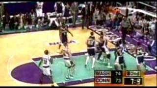 1998 Uconn vs. Washington: Rip Hamilton Buzzer Beater