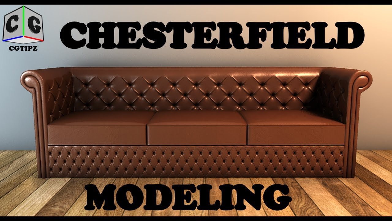 MAYA TUTORIAL : MODELING CHESTERFIELD SOFA IN MAYA