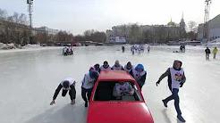 Car Curling. SM Polis Insurance