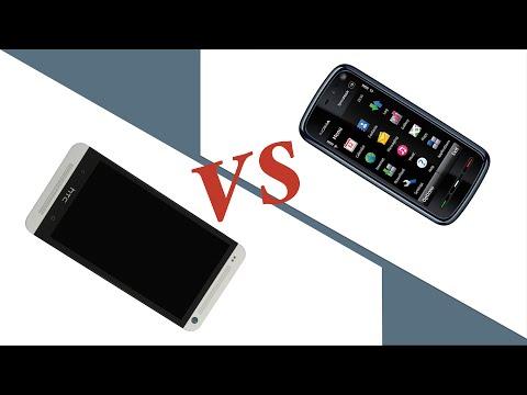 Эволюция телефонов: прогресс от Nokia 5800 до HTC One M7